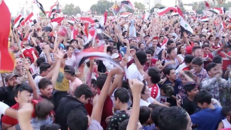 شاهد.. احتفالات السوريين بالتعادل مع أستراليا في ملحق كأس العالم