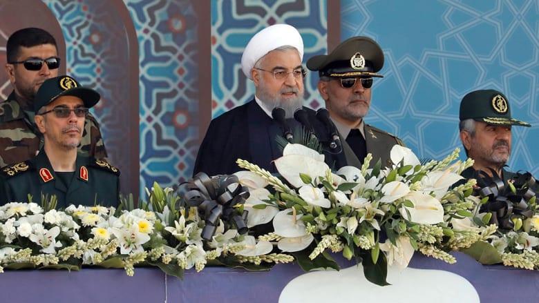 """الرئيس الإيراني يتحدى """"10 أمثال ترامب"""" حول الاتفاق النووي"""