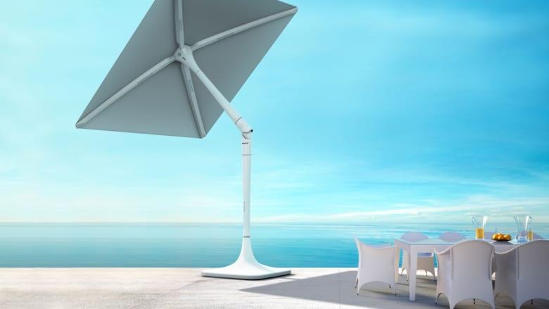 مظلة تتبع أشعة الشمس لتحميك منها.. هل تتوفر في الشوارع قريباً؟