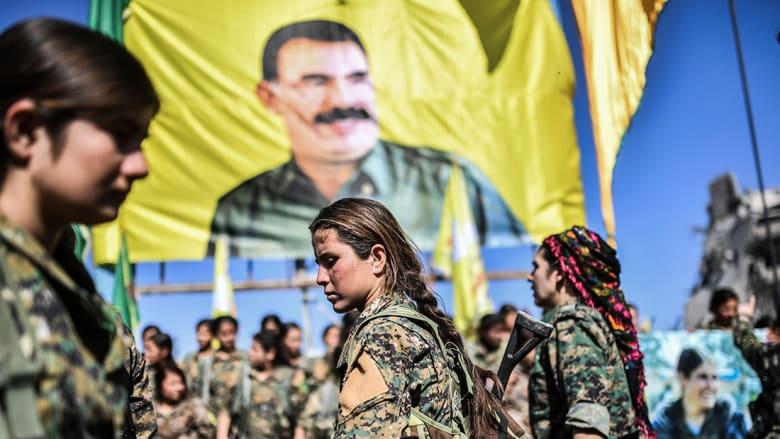 """تركيا عن رفع صورة أوجلان: أمريكا ترعى """"إرهابيين"""" في الرقة"""