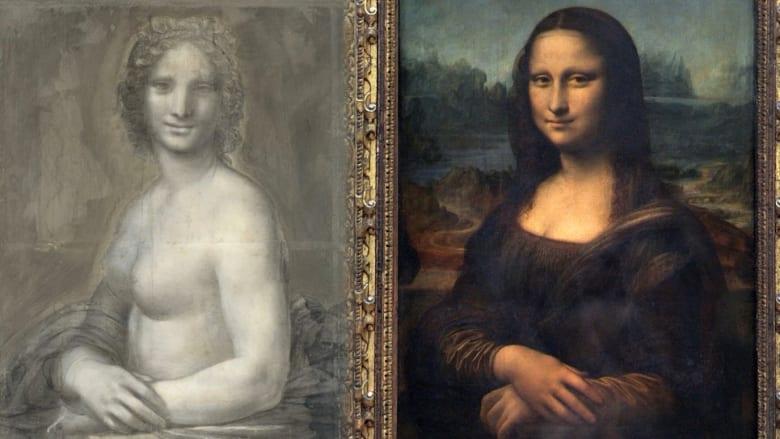 """هل هذه """"موناليزا العارية؟"""" وهل رسمها دافينشي؟"""