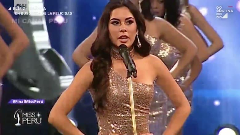 مشاركات في مسابقة ملكة جمال يخرجن عن النص في الحديث عن أجسامهن