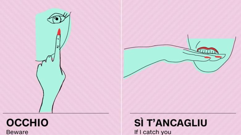 ماذا تعني إشارات اليد في اللغة الايطالية؟ احذر من الشتائم