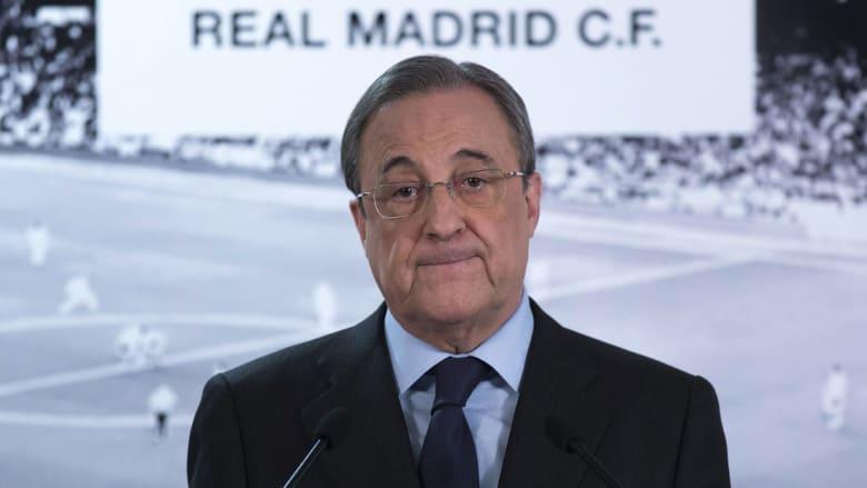 """ريال مدريد يكرم رئيس إسرائيل بمنحه قميصا يحمل الرقم """"1"""""""