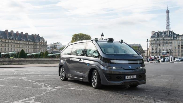 """""""نافيا"""" تكشف عن أول مركبة أجرة ذاتية القيادة"""