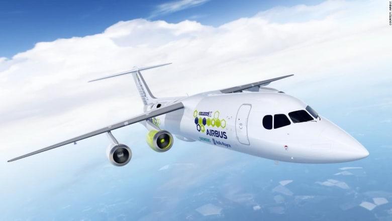 رولز رويس وسيمنز وإيرباص تتعاون لإنشاء طائرة هجينة