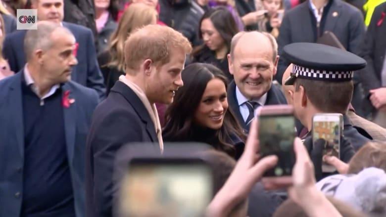 الأمير هاري وميغان ماركل في أول زيارة ملكية