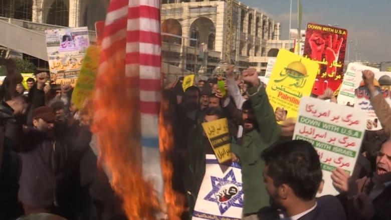 احتجاجات في إيران بعد قرار ترامب حول القدس