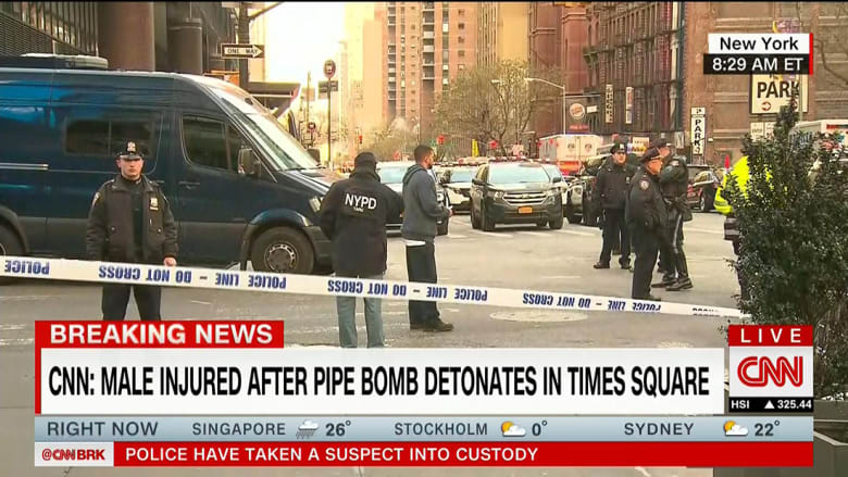 مصادر: انفجار نيويورك ناجم عما يشبه قنبلة أنبوبية