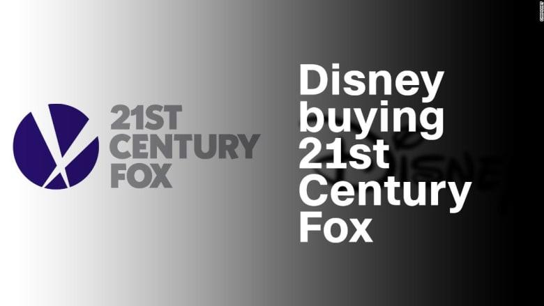 """هل ستوافق أمريكا على شراء """"ديزني"""" لـ فوكس مقابل 52.4 مليار دولار؟"""