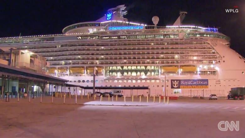مئات المسافرين يصابون بفيروس في رحلة بحرية