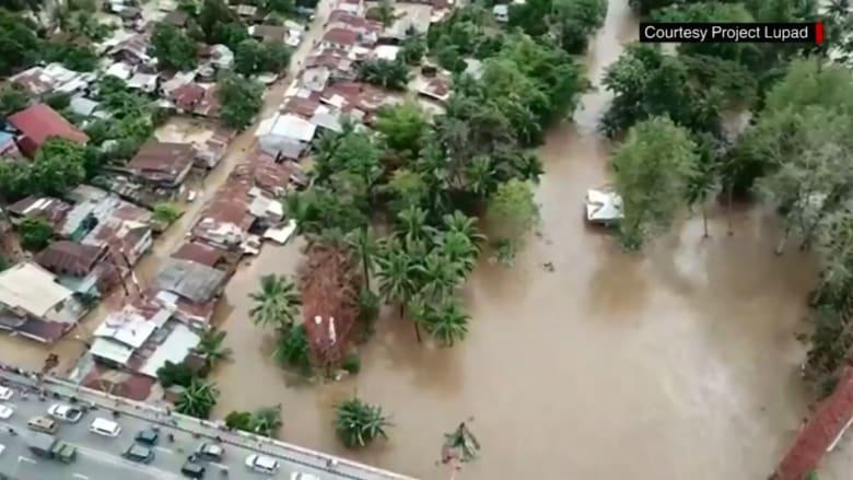 عشرات القتلى إثر عاصفة وسيول في الفلبين