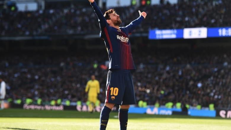 عطلة ميلاد سعيدة لبرشلونة بعد الفوز على ريال مدريد