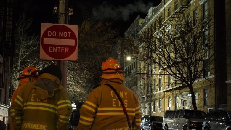 حريق ضخم يسلب أرواح سكان حي في نيويورك