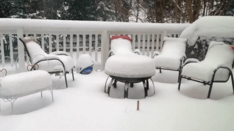 أمريكا تتجمد.. شاهد هذه المقاطع الرائعة للثلج