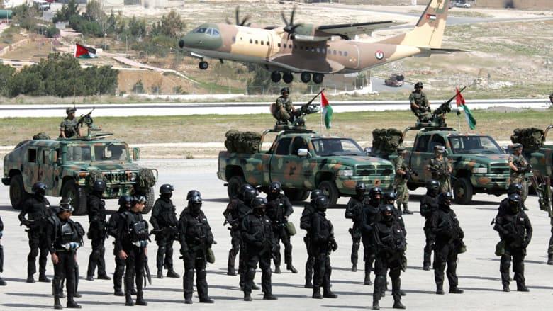 الأردن يعلن احباط مخطط إرهابي لداعش واعتقال 17 عنصرا