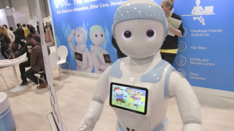 شاهد.. الروبوتات تتألق في أكبر معرض للإلكترونيات الاستهلاكية