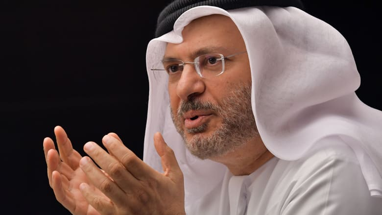 قرقاش: اعتراض الطائرات الإماراتية يؤكد عزم قطر مواصلة تصعيد الموقف