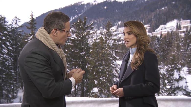 الملكة رانيا لـCNN عن الفجوة بين الجنسين: نحتاج للانتقال من كسر الصمت إلى الإجراءات الفعلية