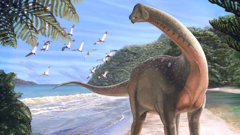 اكتشاف ديناصور بحجم حافلة في مصر
