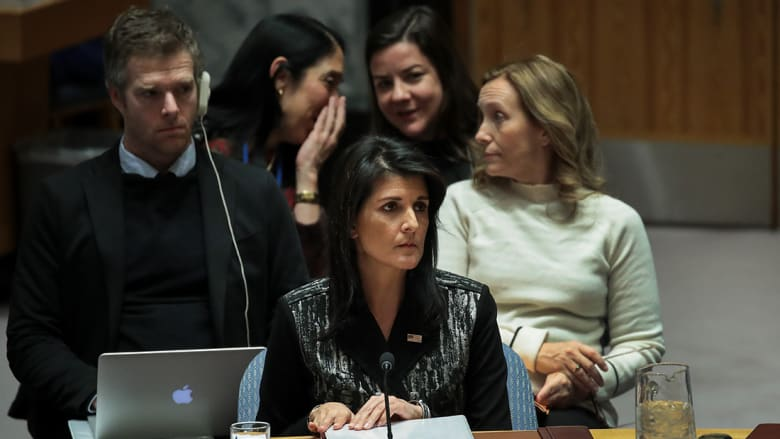 سفيرة أمريكا بـUN: لن ننسى السوريين ولن نتخلى عن مسؤولياتنا