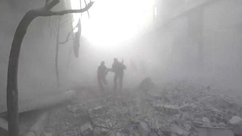 المرصد: مقتل 27 سورياً في غارات على الغوطة الشرقية