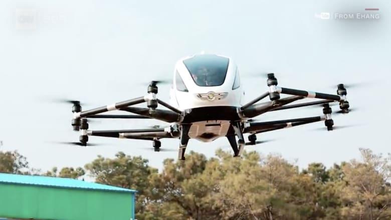 هل يصبح تاكسي المستقبل طائرة بدون طيار؟