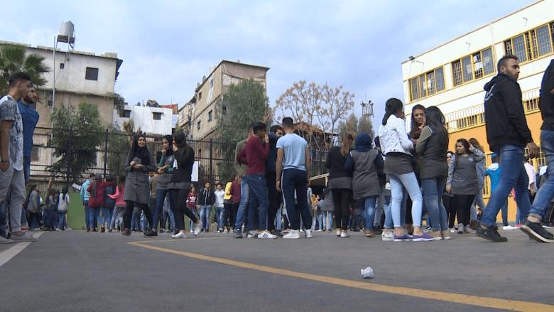 طلاب مدارس الأونروا في لبنان: أمريكا تأمرنا بشيء وتفعل عكسه