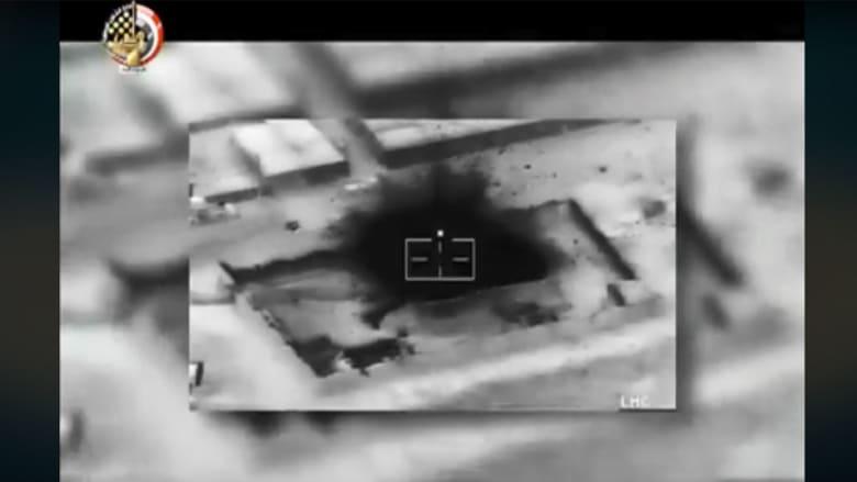 جيش مصر يعلن قصف ثمانية أهداف جواً بسيناء