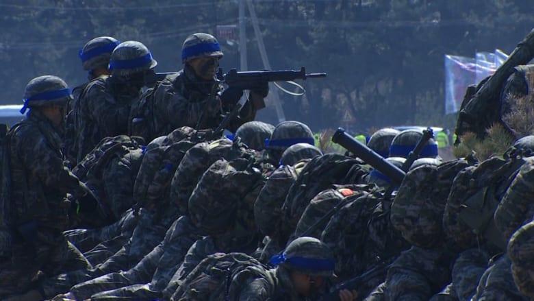 """شاهد.. هذه """"فرقة الاغتيال"""" التي تدربت لقتل كيم جونغ أون"""