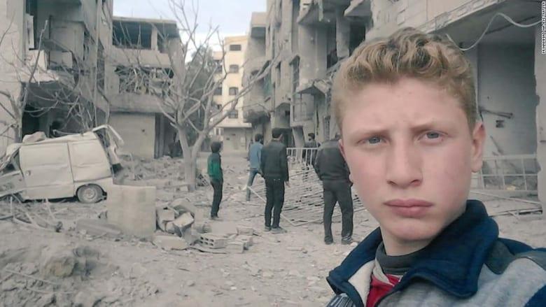 """""""نقتل بصمتكم"""".. محمد نجم ينقل رسالة الغوطة إلى العالم"""
