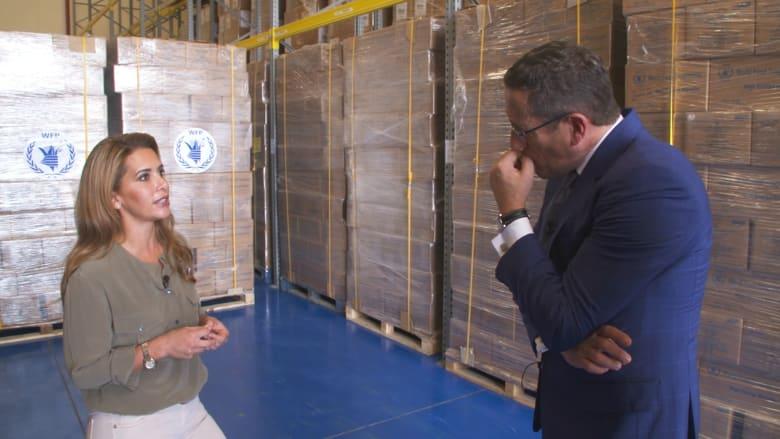 جولة حصرية لـCNN مع الأميرة هيا عقيلة حاكم دبي داخل المدينة العالمية للخدمات الإنسانية
