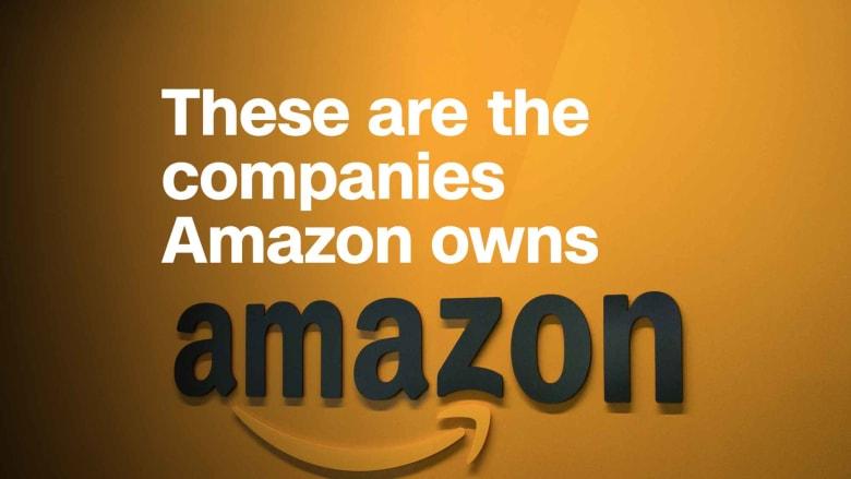"""إليكم الشركات التي يملكها موقع """"أمازون""""!"""