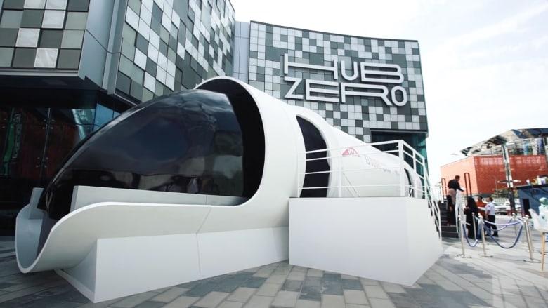 """دبي تكشف عن أول نموذج لمشروع """"هايبرلوب"""""""