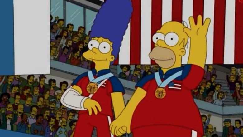 """The Simpsons"" يتوقع فوز أمريكا بالميدالية الذهبية على السويد قبل 8 أعوام"