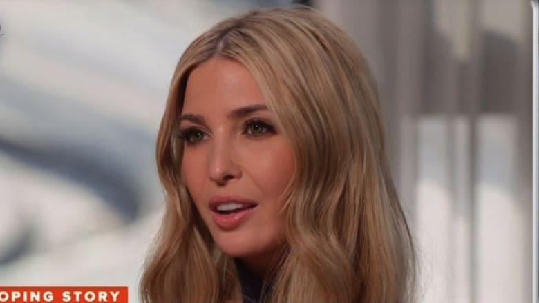 إيفانكا تنتقد مذيعاً بعد سؤالها عن ترامب والاتهامات الجنسية