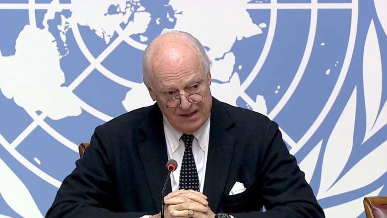 """ديمستورا: """"الأمم المتحدة لن تستسلم حتى يطبق القرار"""""""