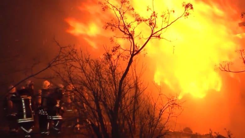 عشرات القتلى في حريق بمركز لمعالجة مدمني المخدرات في أذربيجان