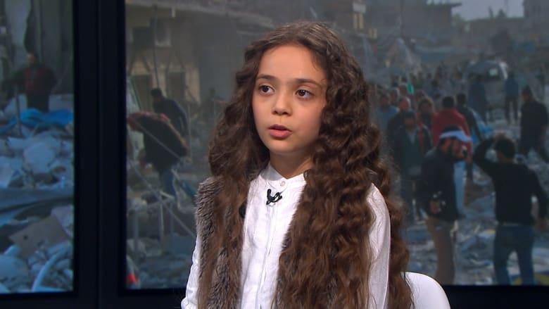 شاهد.. الطفلة بانا لقادة العالم: ترون أطفال سوريا يموتون دون حراك