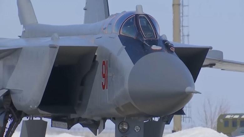 """شاهد.. روسيا تختبر بنجاح صاروخاً """"لا يقهر"""" يفوق سرعة الصوت"""