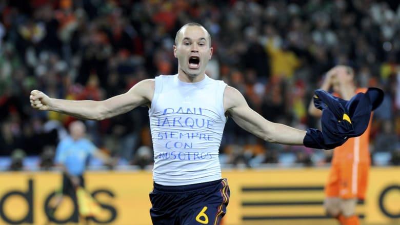 حكاية مونديال 2010: إنييستا يقهر هولندا بهدف قاتل ويهدي إسبانيا اللقب