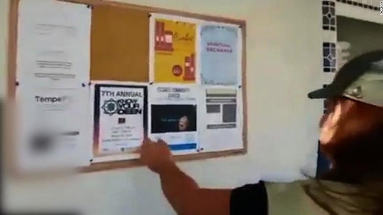 إمرأتان تعتديان على مسجد بأريزونا وتنشران فعلتهما عبر فيسبوك