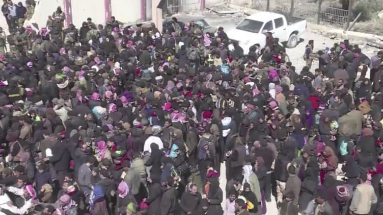 شاهد.. عمليات الإخلاء تتواصل في الغوطة الشرقية