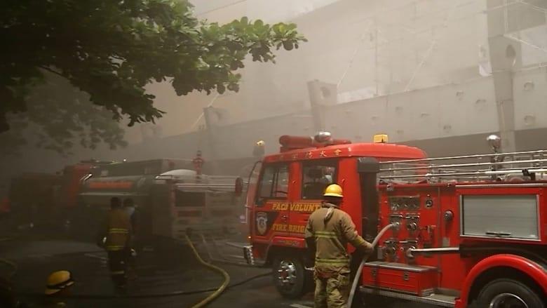 أربعة قتلى في حريق بصالة قمار في الفلبين