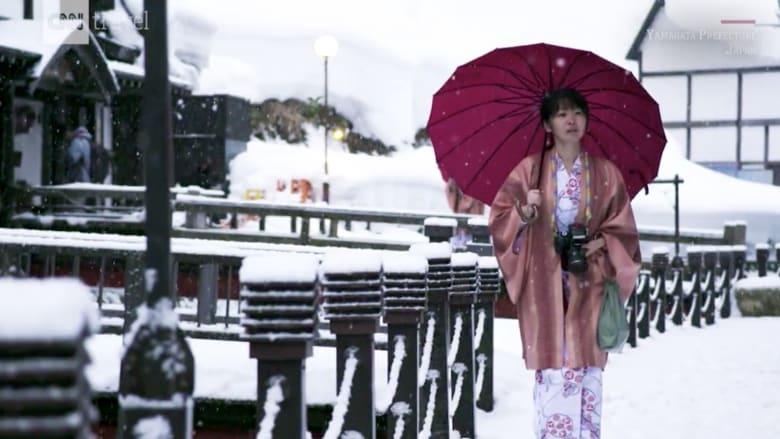 شاهد.. قرية الشتاء الأكثر سحراً في اليابان