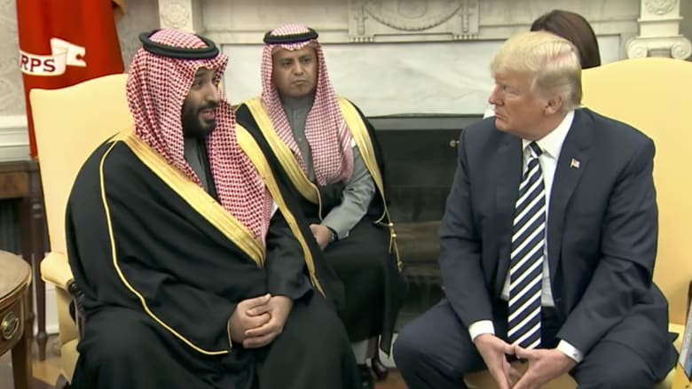 محمد بن سلمان لترامب: نحن أقدم حليف لأمريكا بالشرق الأوسط