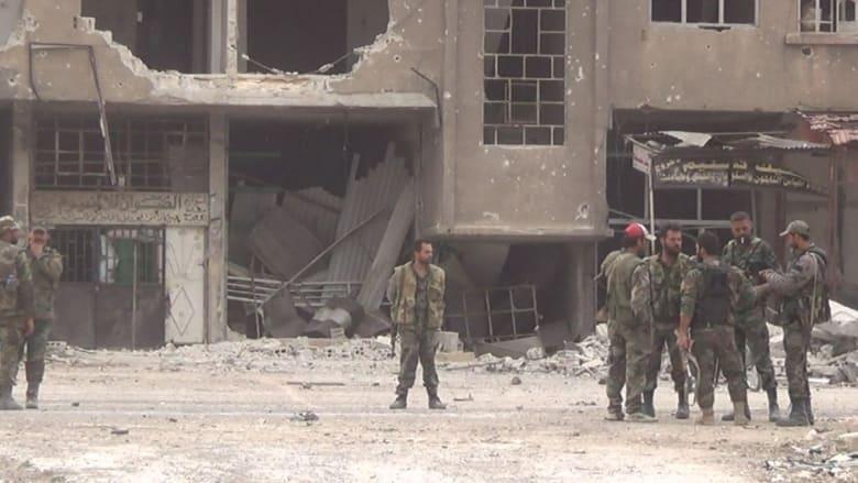 شاهد.. النظام السوري يقترب من الغوطة الشرقية