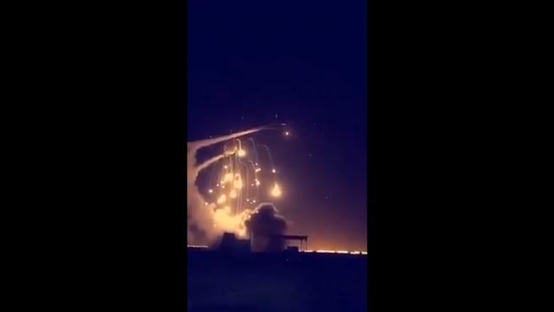 شاهد.. فيديوهات لاعتراض السعودية صواريخ بالستية من اليمن