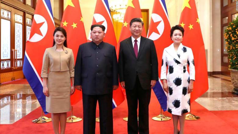 شاهد.. كيم جونغ أون بزيارة مفاجئة للصين