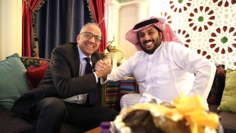 تركي آل الشيخ يلتقي برئيس الاتحاد الأمريكي ويشيد بملف استضافة مونديال 2026
